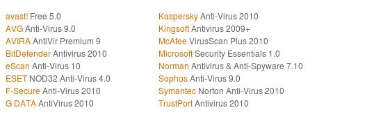 AV Comparatives undersøger en lang række antivirus-programmer, både dem, der er gratis og dem, der skal betales for!