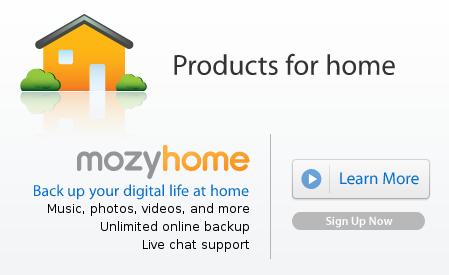 Online backup og sikring af dine filer med Mozy