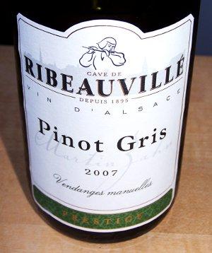 Let og elegant hvidvin: Pinot Gris fra Ribeauville