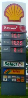 Benzinpriserne er dyre. Spar hvor du kan!